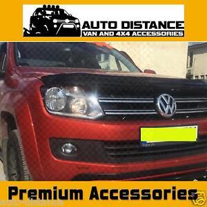 VW-AMAROK-COFANO-Protezione-Bug-PROTEZIONE-NERO-ACRILICO