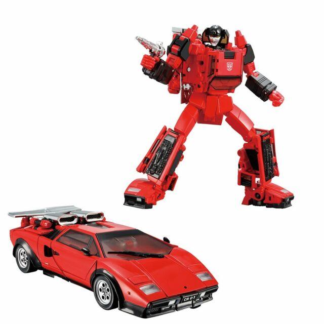 Alert Lamborghini Robot Car Figurines Toy Transformers Masterpiece MP-14