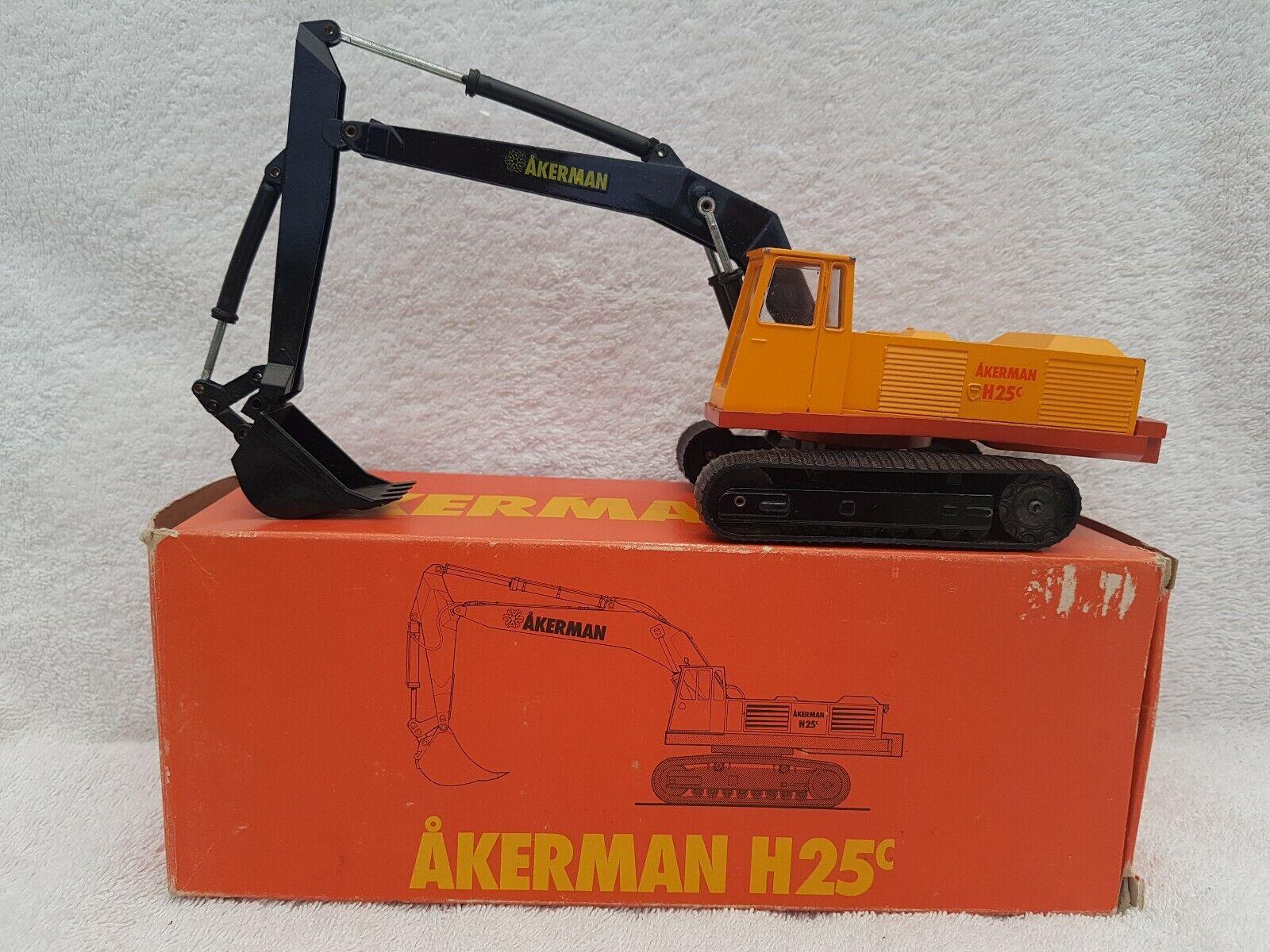 NZG 1 50 échelle Diecast metal Model - 148-Akerman H25c Pelle