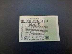 BILLETE DE 1 MILLON DE MARCOS DE ALEMANIA DEL AÑO 1923 (EN ACEPTABLE ESTADO)