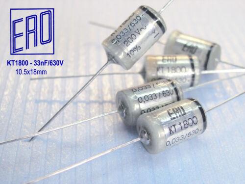 ERO 33nF 630V Hi-End Audio Grade Capacitors  x 10 PIECES KT1800