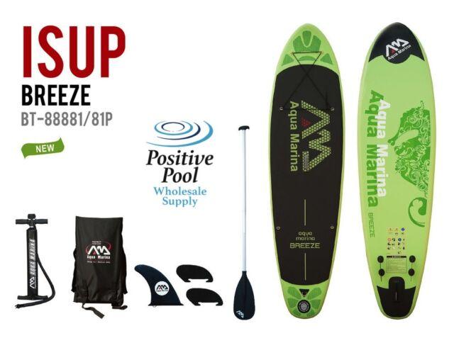 Aqua Marina Breeze 10 Foot Inflatable Stand Up Paddle