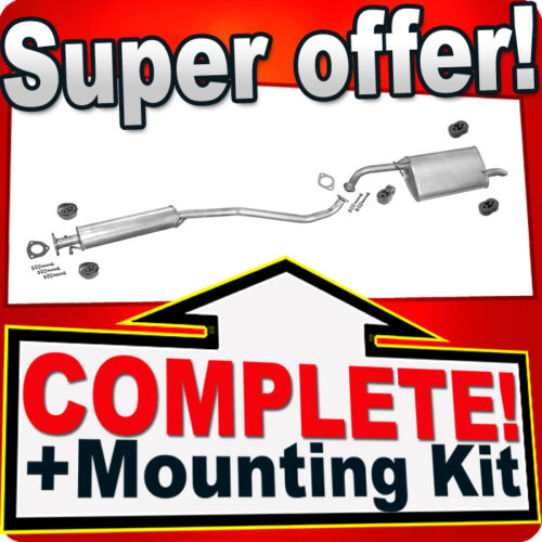 Lacetti 1.4 1.6 16V Saloon Silencer Exhaust System P25 Chevrolet Nubira