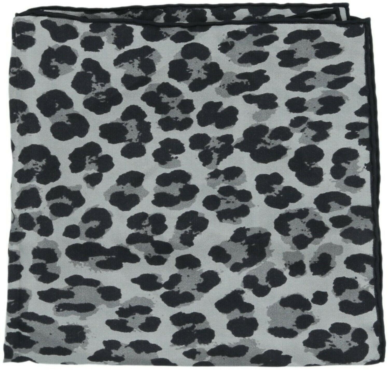 Tom Ford Men's Leopard Print Pocket Square