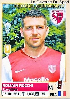 258 ROMAIN ROCCHI # FC.METZ STICKER PANINI FOOT 2015