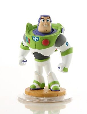 Crystal Clear Buzz Lightyear Disney Infinity 1.0 Toy Story Character Game Figure