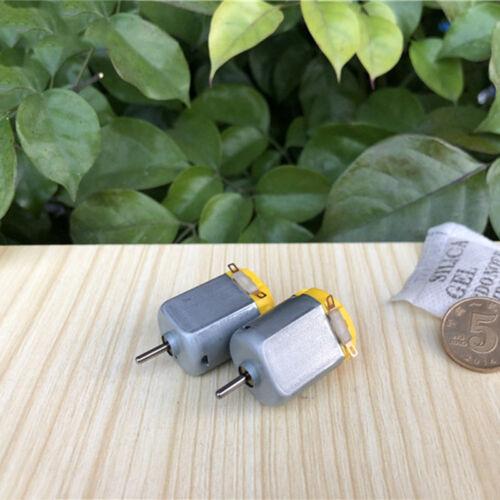2PCS DC 1.5V~6V 16800RPM High Speed Mini FN130 Motor DIY RC Car Hobby Toy Model