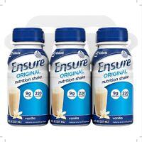 Ensure Original Nutrition Shake, Vanilla 8 Oz, 6 Ea (pack Of 2) on Sale
