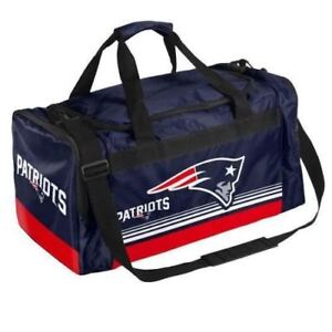993e2c831fe New England Patriots Duffle Bag Gym Swimming Carry On Travel Luggage ...