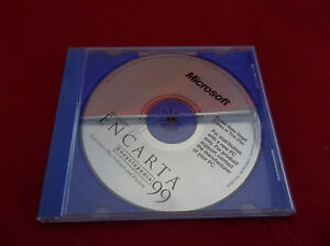 Microsoft-Encarta-Encyclopedia-1999-PC-CD-ROM-Software-Disc