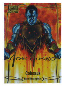 2016-Upper-Deck-Marvel-Masterpieces-Colossus-Gold-Signature-Card-74-Joe-Jusko