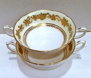 Soup-Bowls-Hammersley-Bone-China-Made-in-England-China-amp-Dinnerware-Bowl