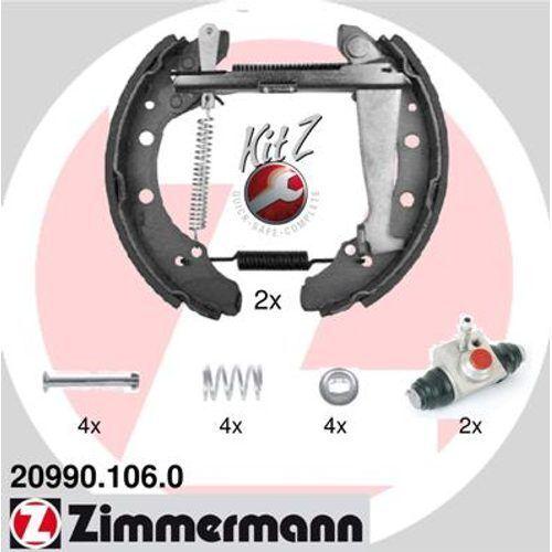 ZIMMERMANN Bremsbelagsatz 20990.106.0