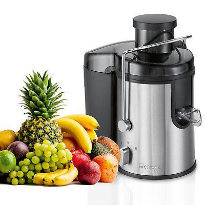 Clatronic AE 3666 Licuadora para verduras y frutas 2 velocidades 400W acero inox