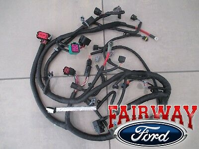 ford wiring harnesses 04 excursion oem ford engine wiring harness 6 0l 9 23 03   later w ford wiring harness repair oem ford engine wiring harness 6 0l