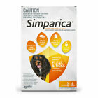 Simparica Chewables Flea and Tick Protection for 5.1-10kg Dogs - 6 Pieces