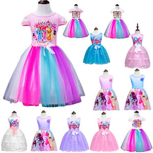 My Little Pony Madch Kleid Prinzessin Costume Sommer Party Carton
