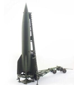 Precision Model Art 1/72 V-2 Rocket German Army Spring 1945 w/Mobile L.T. P0322