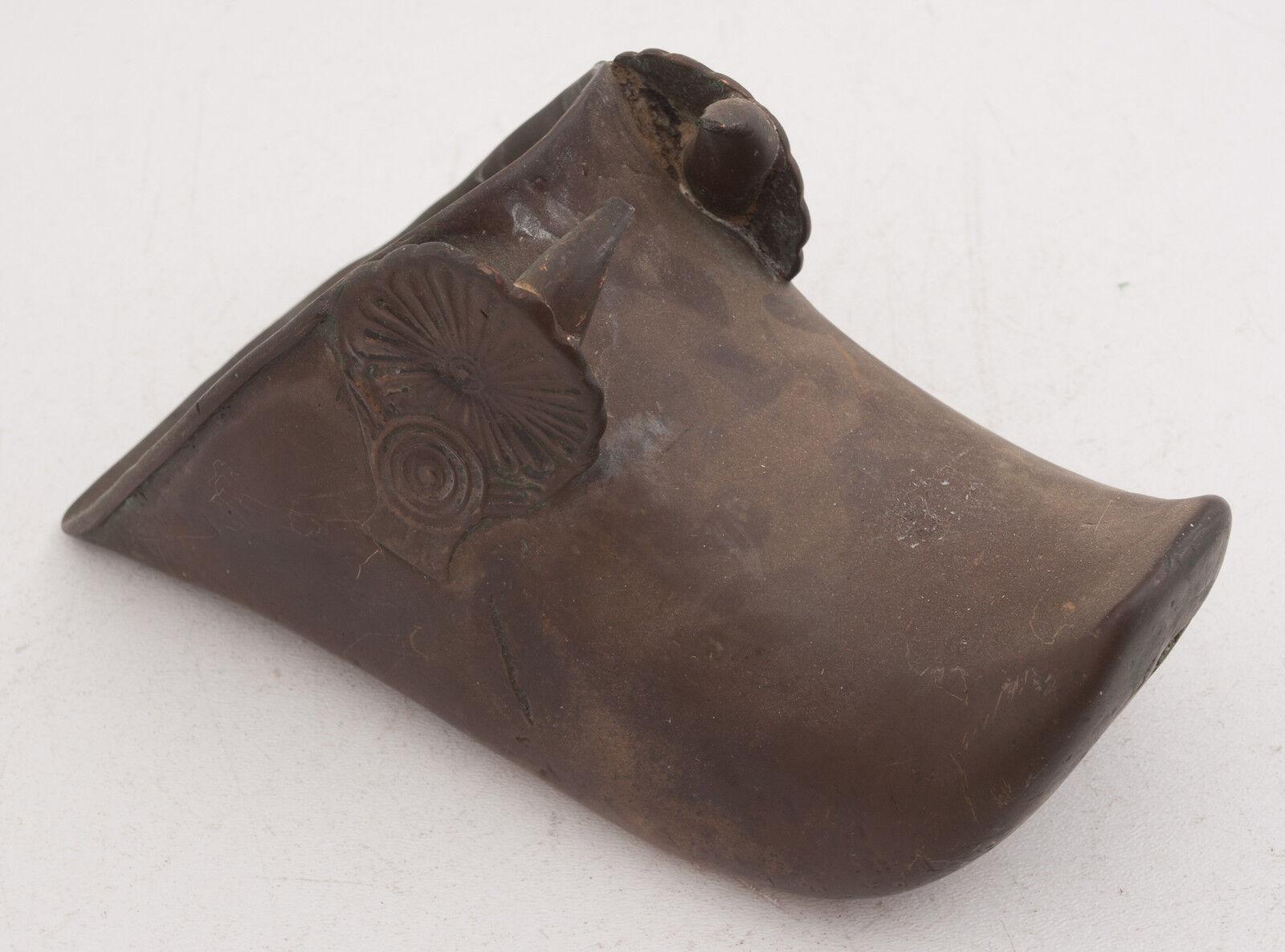 Brass Conquistador Horse Stirrup Equestrian Boot Rest (B3L) Foot Samurai   online shopping and fashion store