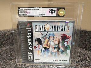 2000 PS1 Final Fantasy IX 9 VGA 85 GOLD - Archival - PlayStation 1 - WATA