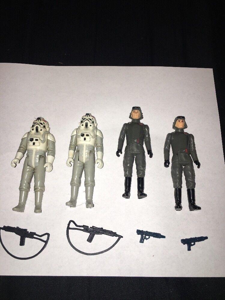 Vintage Original 1980 Star Wars ESB Stormtrooper AT-AT Driver And Commander