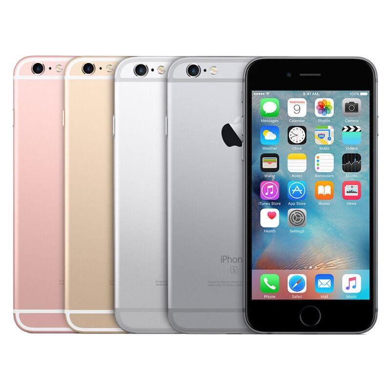 Apple iPhone 6s – 16GB 32GB 64GB 128GB – Unlocked AT&T Verizon T-Mobile Sprint