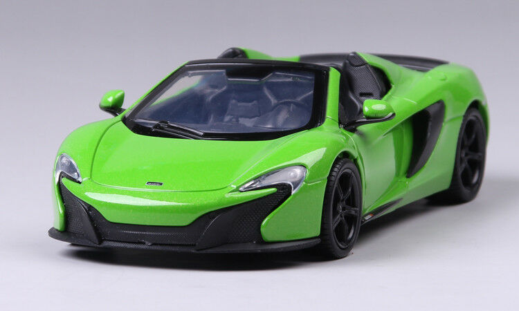 McLaren 650s Congreenible Model Cars 1 24 Toys Collection Green New Alloy Diecast
