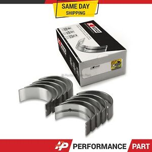 King Rod Bearings 0.25 Undersize for 81-89 Chrysler Dodge Mitsubishi 2.6L G54B