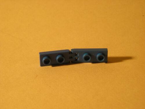blau LEGO ERSATZSTEINE  5 Stk zweier flach-lang mit Gelenk