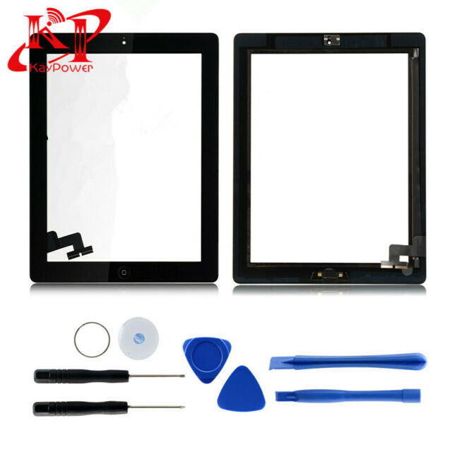 New For iPad 2 Screen Replacement Glass Digitizer A1395 A1397 A1396 Black USA