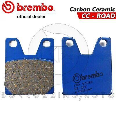 Bremsen Pflichtbewusst BremsbelÄge Hinten Brembo Blau Kohlenstoff Ceramic Yamaha Yzf-r1 1999 Fein Verarbeitet
