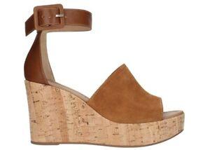 Sandali-scarpe-da-donna-con-zeppa-alta-comoda-Nero-Giardini-E012411D-camoscio