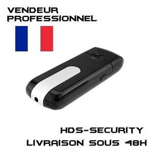 CLE-USB-CAMERA-ESPION-32-GO-MAX-DETECTEUR-DE-MOUVEMENTS-VIDEO-PHOTO-DICTAPHONE