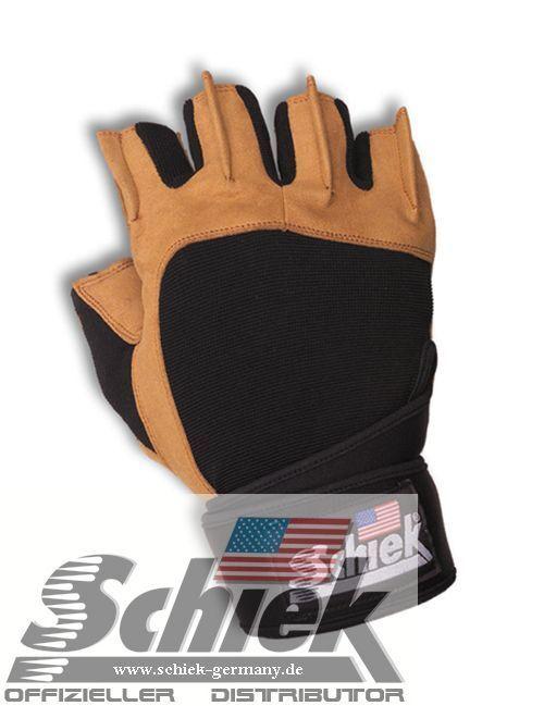 Schiek Sports Fitnesshandschuhe Modell Modell Modell 425 mit Handgelenksbandage von Schiek c722cb