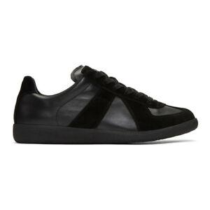Maison Margiela Black Replica Sneakers