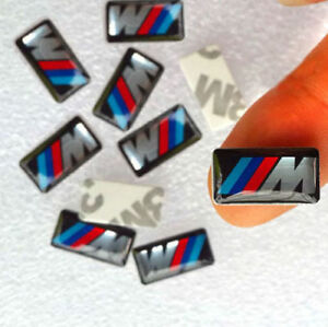 X10-Logo-M-POWER-BMW-Sticker-3D-Insigne-Autocollant-19X11mm-jantes-volant