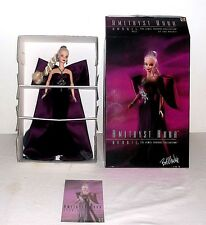 Amethyst Aura Barbie By Bob Mackie MATTEL 1997 The Jewel Essence Collection New