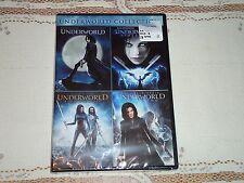 NEW Underworld Quadrilogy 1 2 3 4 Evolution Rise Of The Lycans Awakening DVD Set