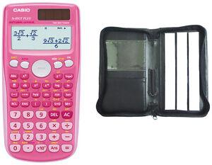 Casio FX-85 GT Plus PINK Schutztasche