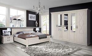Schlafzimmer komplett schrank bett 180x200cm nachttisch for Schrankmodule schlafzimmer