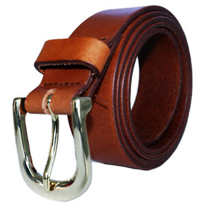 LEATHER-BELT-100-GENUINE-LEATHER-TOP-BRAND-Brown-waist-sizes-XS-L