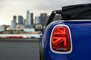 Bmw Mini Oem Uk Union Jack Led Taillights Set Mini Cooper S Jcw One F55 F56 F57 Ebay
