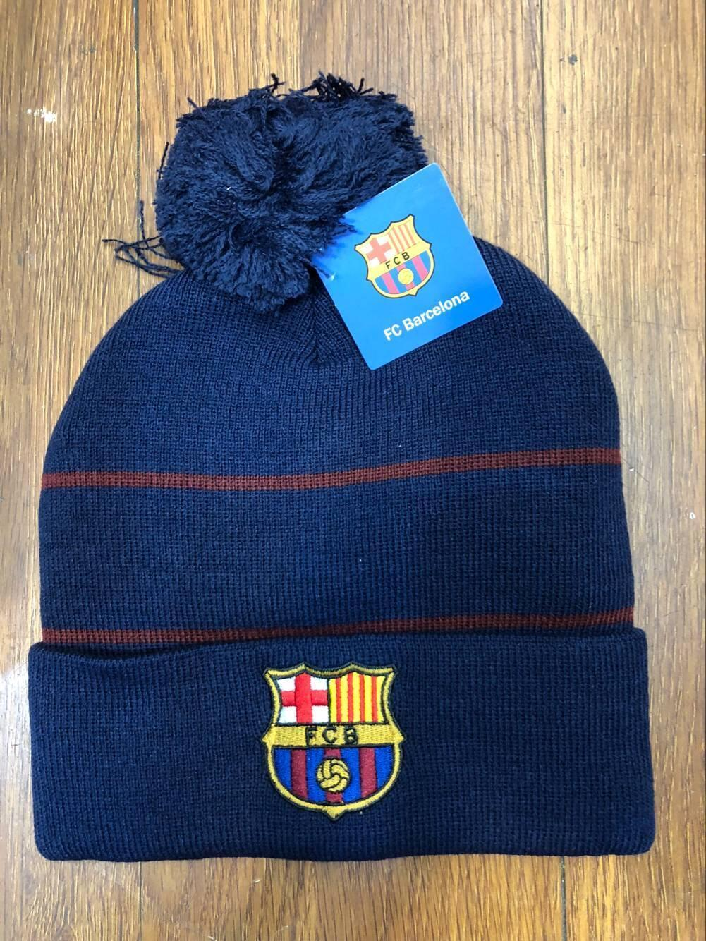 47f9a3a4933 Football Club Soccer Knitted Beanie Bobble Hat Winter Cap Real  Madrid LIV PSG 5 5 of 6 ...