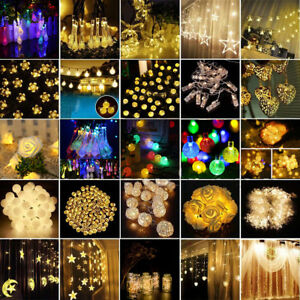 Christmas-Fairy-String-Strip-Lights-Wedding-Party-Outdoor-Decor-Novelty-lights