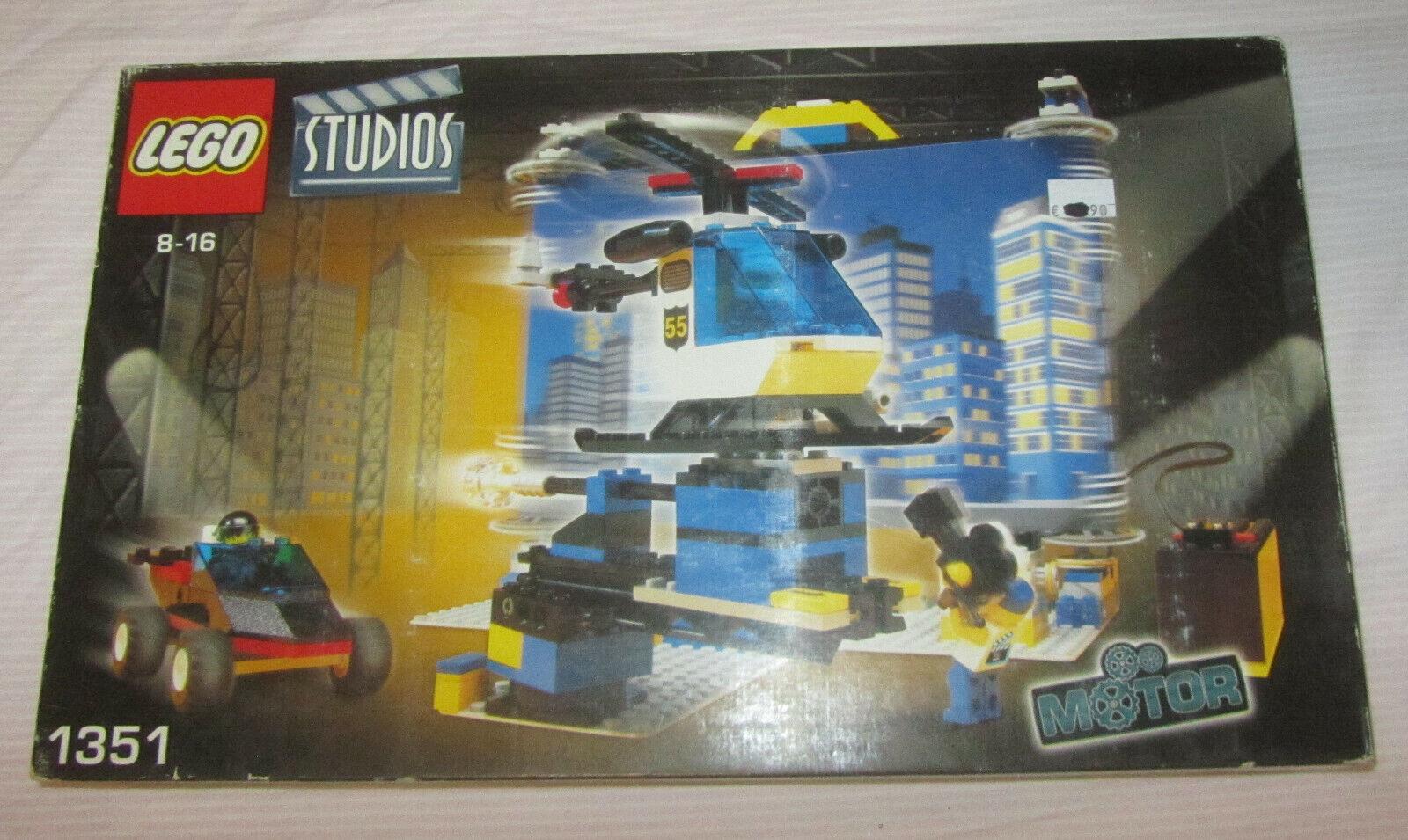 LEGO Studios 1351 Film Sfondo Moving Backdrop Studio Motor Sigillat SPESE GRATIS