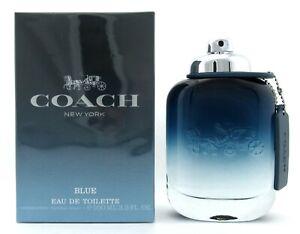 Coach BLUE Cologne 3.3 oz / 100 ml. Eau de Toilette Spray for Men. New in Box