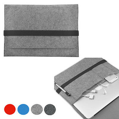 Filz Notebook Etui Hülle Abdeckung Für Apple Macbook Pro & Luft & Retina 27.9cm