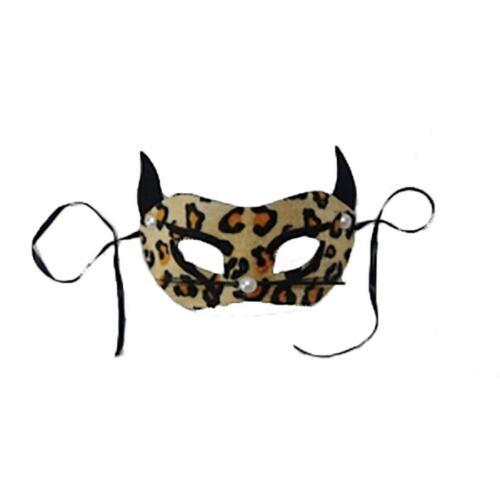 Le Ragazze Signore Maschera Occhi Adulto Animale Leopardo Occhio Maschera Accessorio Costume Festa