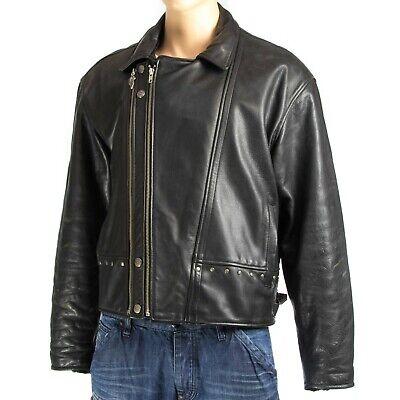 Harley Davidson Giacca Di Pelle Biker Moto Leather Jacket-size: Xxl (lj436u)-mostra Il Titolo Originale Per Farti Sentire A Tuo Agio Ed Energico