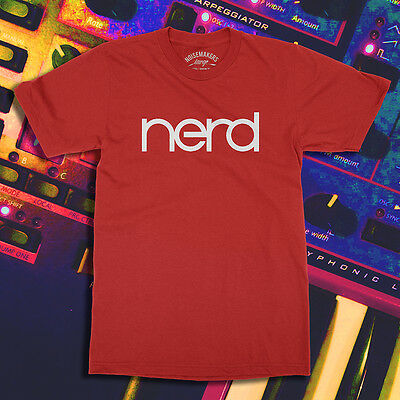 Lead Electro Synthesizer Synth Nord Analog Noisemakers NERD T-Shirt NEW